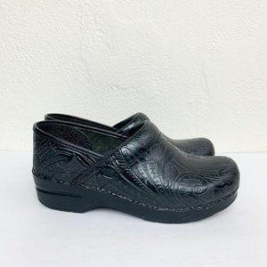 Dansko Tooled Leather Professional Clogs 39